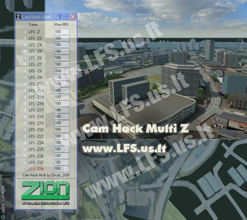 LFS Cam Hack Multi Z