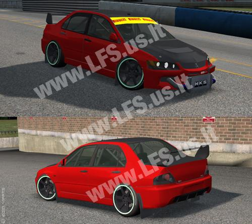 XR - Mitsubishi Evolution 9 Two Versions