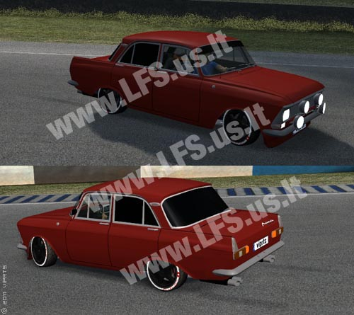 RB - Moskvitch 408 Neon Team