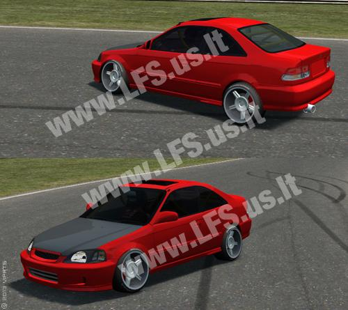 XF - Honda Civic Si 1999